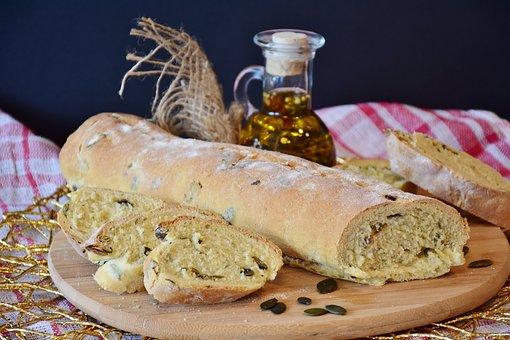 Bread, Ciabatta, Baked, Food, Staple Food, Oven