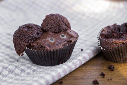 Muffin, Saje, Pastries, Sweet, Sugar, Treat, Cake