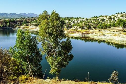 Lake, Landscape, Mountains, Scenery, Autumn