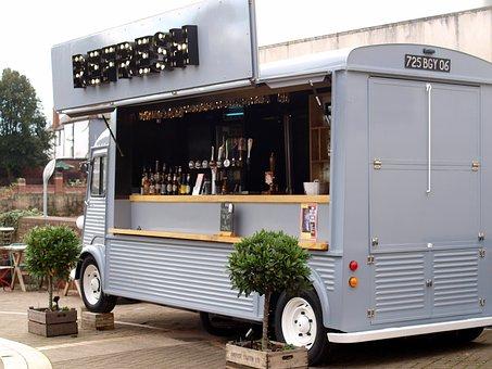 Bar, Van, Cafe