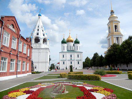 Church, Temple, Orthodox, Bell, Golden Dome, Russia