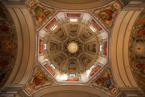 Salzburg, Dom, Blanket, Salzburg Cathedral, Austria