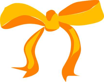 Bow, Yellow, Present, Gift, Holiday, Celebration