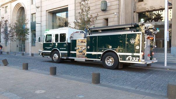 Fire Department, Chile, Santiago