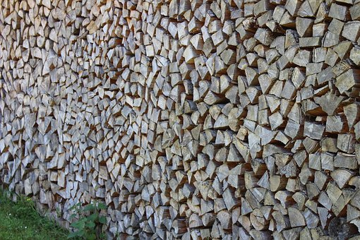 Wood, Dry, Stock, Wall, Holzstapel, Firewood