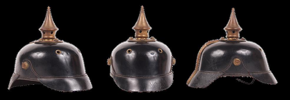 Helmet, Army, Protection, Ammunition, War, Old, German