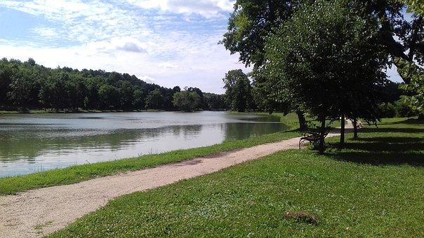 Deg, Castle, Castle Park, Nature, Landscape, Hungary