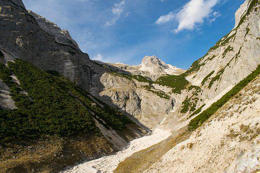 Alps, Mountain, Output, Karwendel, Birkkarspitze