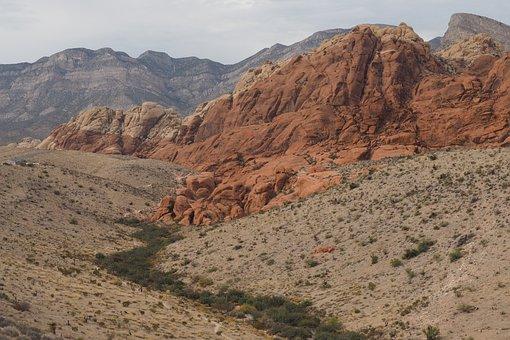Las Vegas, Red Rock Canyon, Nature, Landscape, Stone
