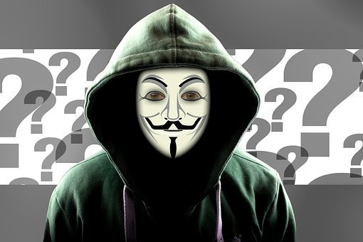 Question Mark, Hacker, Attack, Mask, Internet