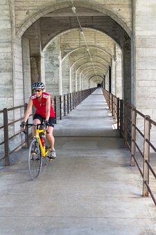 Bike Ride, Bridge, Cyclists, Cycle, Bike, More, Tour