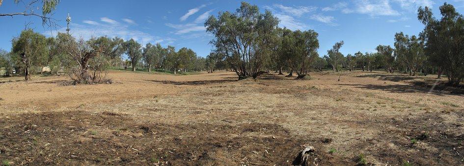 Alice Springs, Nt, Australia, Outback, Panorama