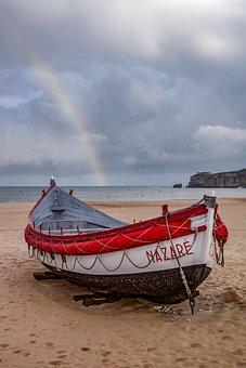 Rainbow In Nazaré - Chrono 616, Windmill Gard, Rainbow