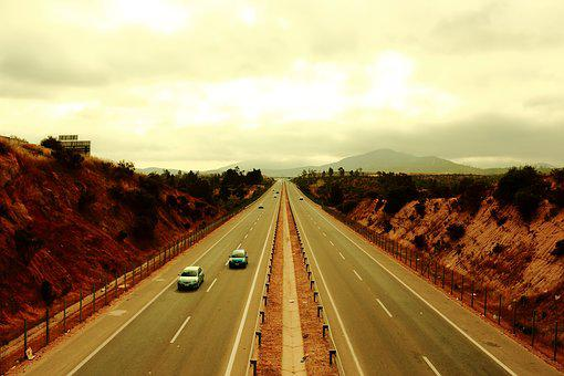 Route, Road, Panoramic, Path, Speed, Urban Landscape