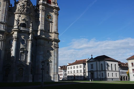 St Gallen, Old Town, The Monastery District, Cathedral