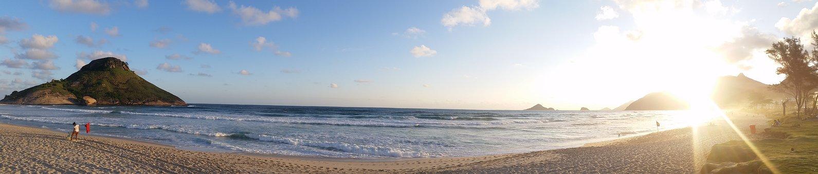 Praia Da Macumba, Beach, Sunset