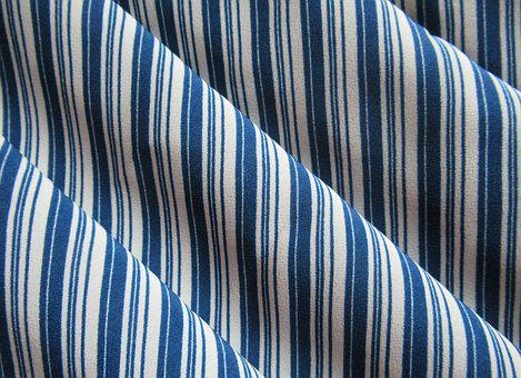 Textile, Striped, Folds