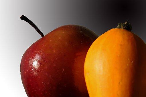 Apple, Pumpkin, Autumn, Thanksgiving, Harvest
