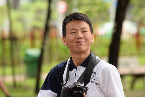 Boys Photography, Freshman, Virtual Life