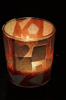 Shining, Candle, Bright, Tealight, Handicraft