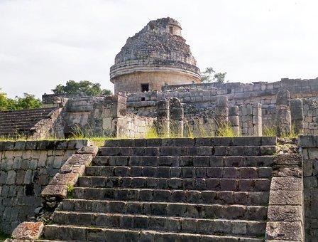 Yucatan, Chichen Itza, Planetarium