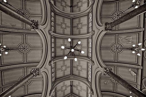 Synagogue, Ceiling, Brighton, Church, Jewish, Religion