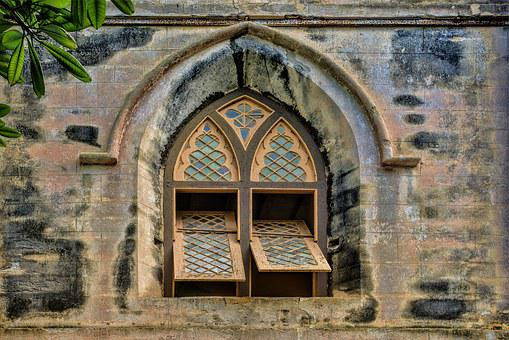 Church, Window, Barbados, Saint John's Church