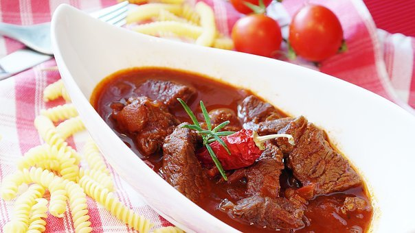 Goulash, Meat, Beef, Court, Main Course, Cook, Eat