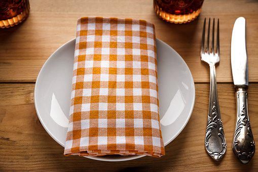 Cover, Plate, Cutlery, Restaurant, Board, Eat, Table