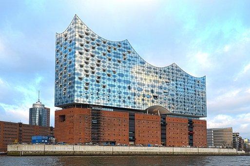 Hamburg, Elbe Philharmonic Hall, Concert Hall, Opera