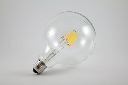 Light Bulb, Light, Led, Lighting, Electric, Electricity