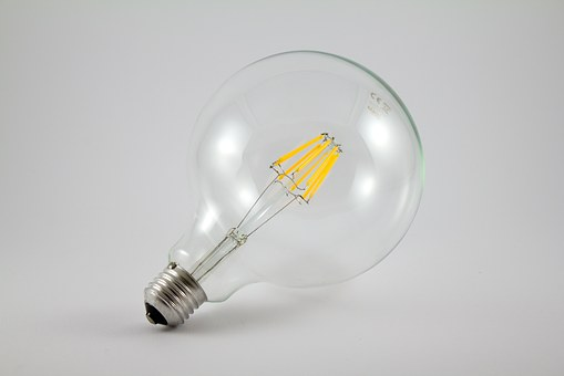 Light Bulb, Light, Led, Lighting, Electric, Electricity