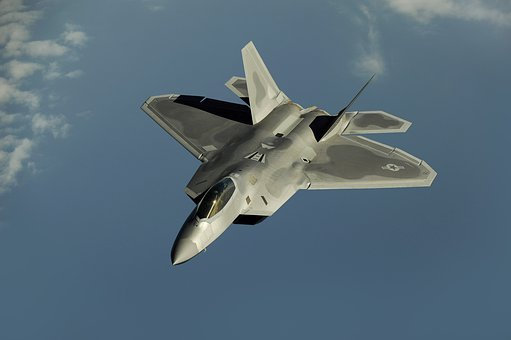 Fighter Jet, Fighter Aircraft, Aircraft, F 22 Raptor