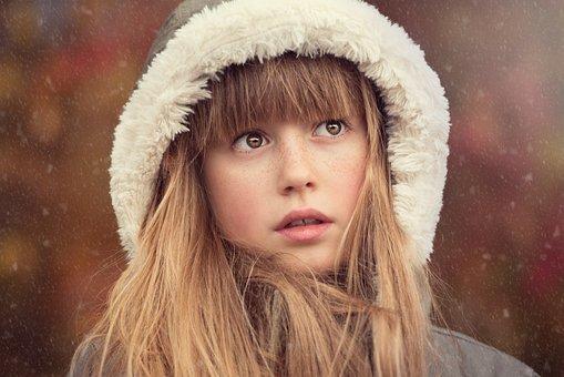 Person, Human, Female, Girl, Face, Pretty, Long Hair