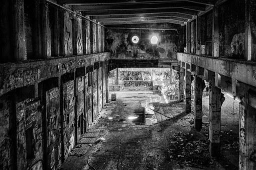 Lost Places, Pforphoto, Hall, Factory, Ruin
