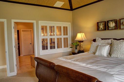 Home, King, Island Style, Bedroom, Bed, Interior