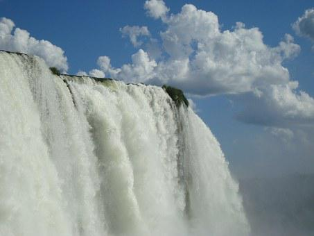 Cataract, Iguaçú, Waterfall, Iguazu Falls, Brazil