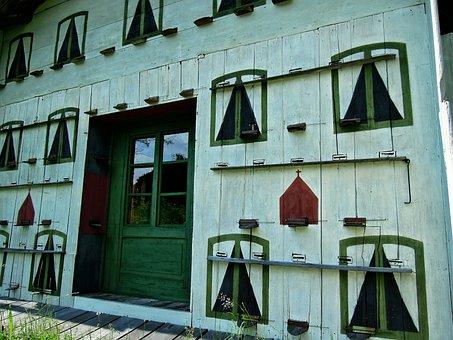 House, Window, Doors, Wood, Input, Architecture