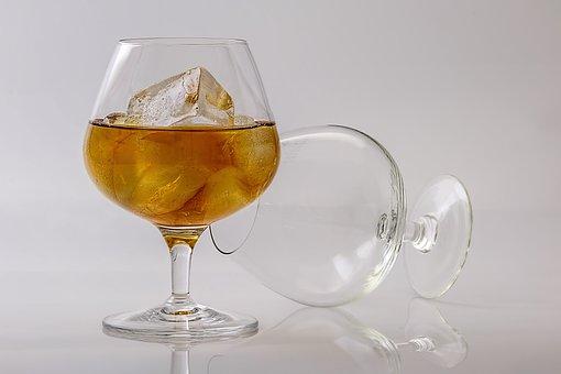 Brandy, Cognac, Alcohol, Drink, Cocktail, Liquor, Glass