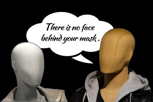 Face, Mask, Appearance, Psychology, Masking