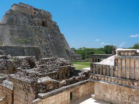 Mexico, Chichen Itza, Pyramid, Maya