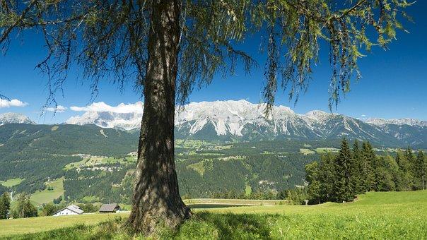 Nature, Dachstein, Austria, Mountains, Landscape