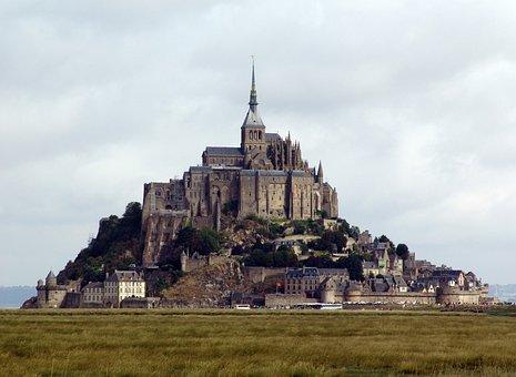 Mt Saint Michel, Island, France