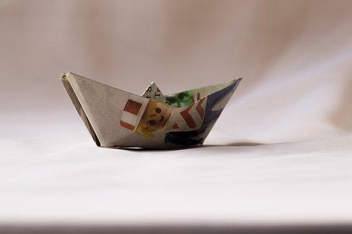 Papierschiff, Paper, Ship, Fold, Tinker, Handicraft
