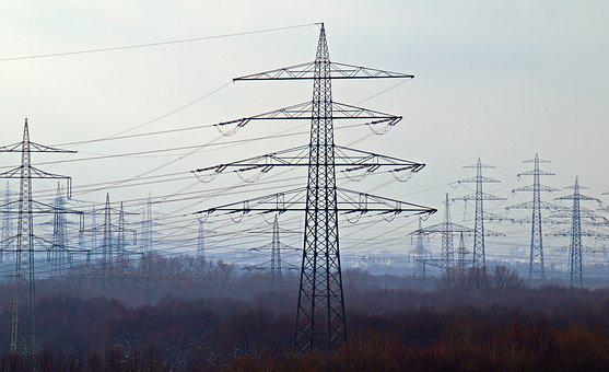 Energy, Current, Power Poles, Power Line, Electricity
