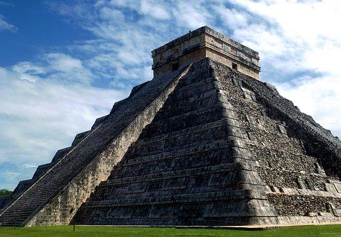 Mexico, Pyramid, Chichen Itza