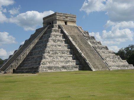El-castillo, Chichen-itza, Mayan, Pyramid, Temple