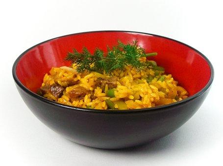 Rice Dish, Rice Bowl, Rice Plate, Rice Ladle, Rice