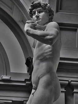 David, Michelangelo, Statue, Italy, Monument, Sculpture