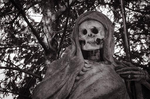 Cutter Man, Dead, Death, Skeleton, Bony, Spirit